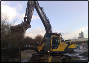 Plant Hire Manchester Plant Hire for civil engineering contractor salford manchester